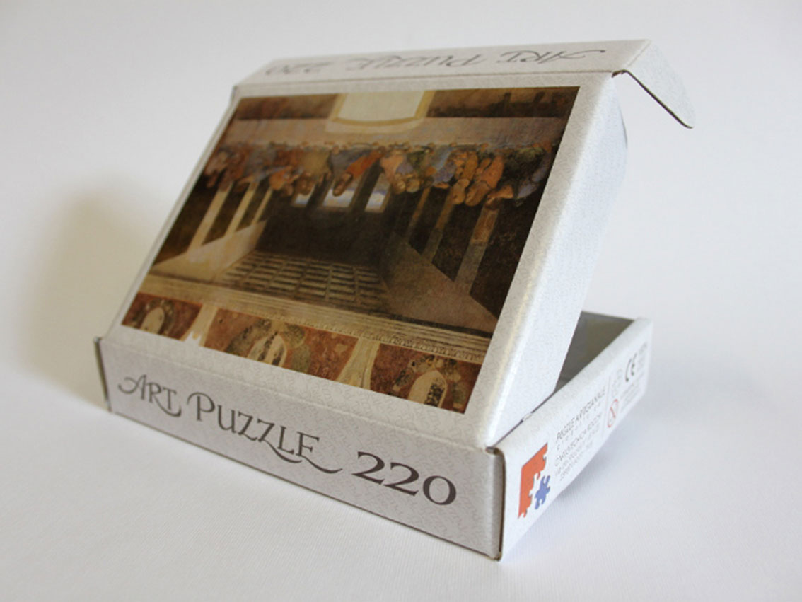 Puzzle museo 24x30 scatola