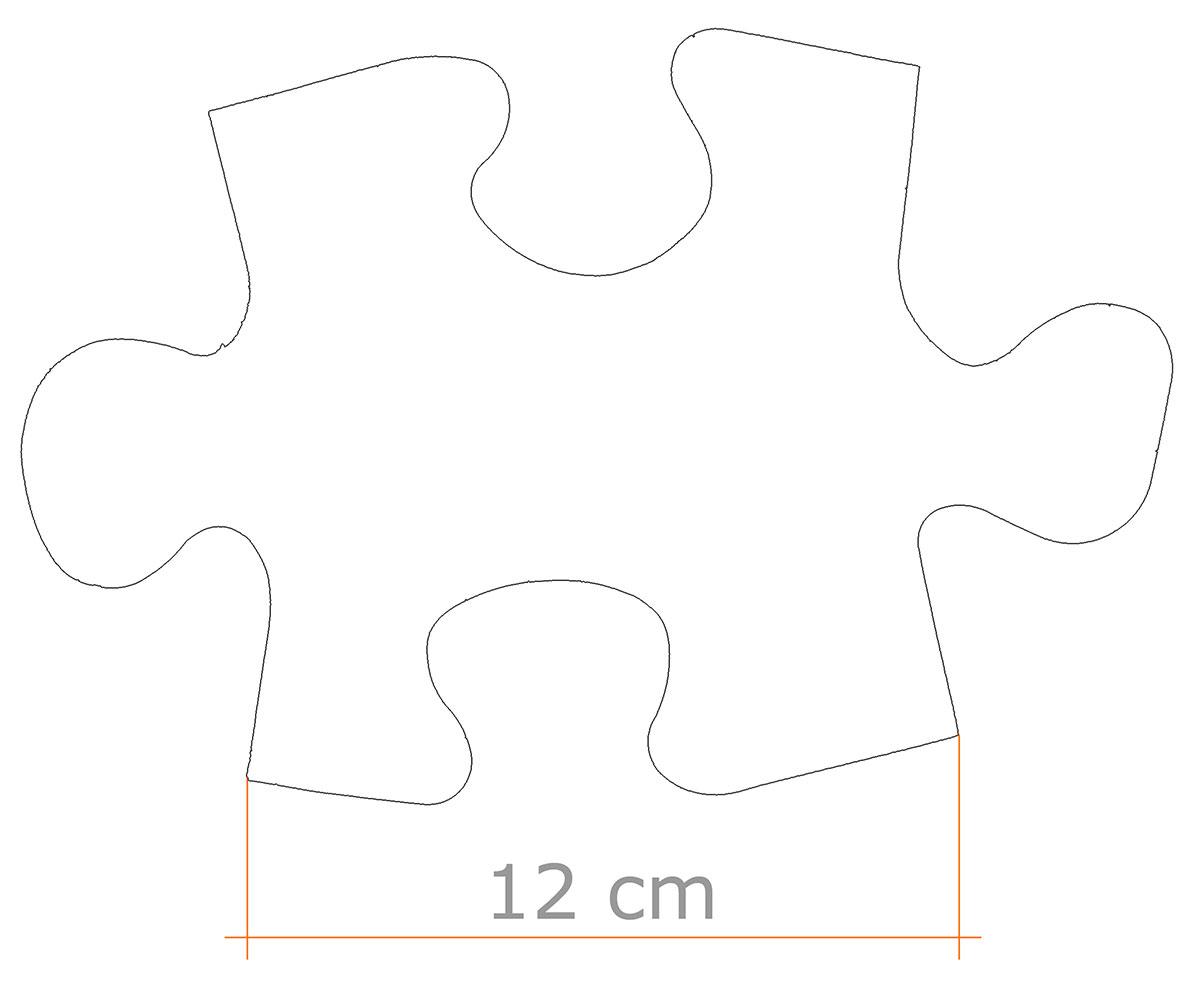 Tessera puzzle maxi Rocchi