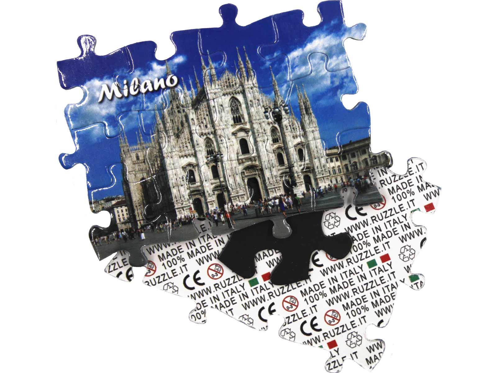 Magneti personalizzati a puzzle